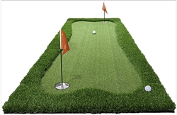 JEF WORLD OF GOLF Professional Large Realistic Putting Training Mat (3x10)
