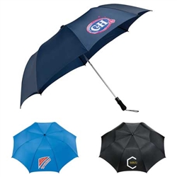 "58"" Auto Open Folding Golf Umbrella - Price Includes Your Logo!"