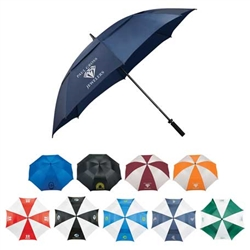 "Custom Logo 62"" Course Vented Golf Umbrella - Price Includes Your Logo!"