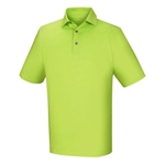 FootJoy Men's Golf Shirt - Lisle Space Dyed, Lime
