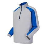 FootJoy Men's Sport Windshirt, Silver/Blue