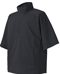 FootJoy Mens FJ Hydrolite Short Sleeve Rain Jacket 23700, Black