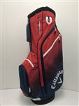 Callaway Golf Chev Cart Bag 2018, Navy/Red/White