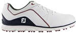 FootJoy Pro/SL Spikeless Golf Shoes White/Navy - Style #53269