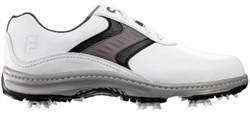 FootJoy Contour Series Golf Shoe - White/Grey/Black