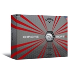 Callaway Chrome Soft X Golf Balls 12pk (NEW)