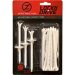 "Zero Friction Tees - White, 3 1/4"" (18 Pack)"