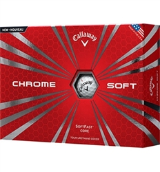 Callaway Chrome Soft Golf Balls 12pk (NEW)