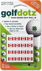 Golf Dotz Canada - Ball Marking