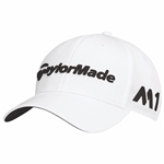 TaylorMade Golf Tour Radar Adjustable Golf Hat, White