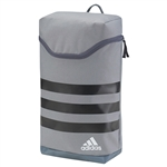 adidas Golf 3-Stripes Shoe Bag - Grey