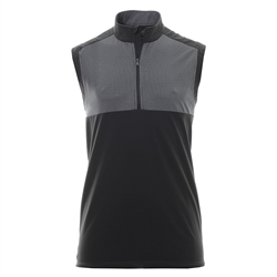 adidas Golf Stretch Wind Vest, Black Style #BC2325
