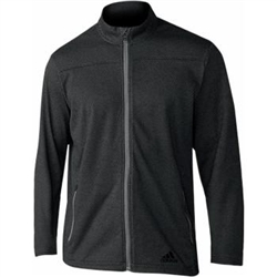 adidas Men's Climawarm FZ Fleece Sweater Black Style #CE6815