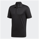 adidas Mens Performance Polo, Black
