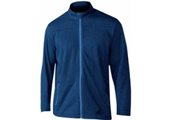 adidas Men's Climawarm FZ Fleece Sweater Navy Style #DM7963