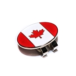 Canada Flag Magnetic Hat Clip & Ball Marker