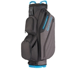 TaylorMade Cart Lite Black Grey Blue Cart Bag