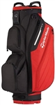 TaylorMade Cart Lite Black/Red Cart Bag