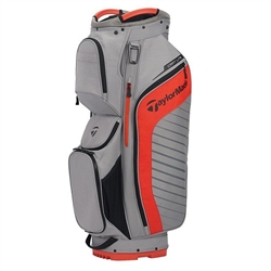 TaylorMade Cart  Lite Cart Bag - Grey/Red