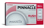 Men's Pinnacle RUSH Golf Balls 15pk (NEW)