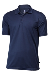 Mens PGA Tour Classic Golf Shirt, Navy