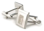 PGA Tour Chrome Cuff Links