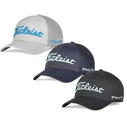 Titleist Tour Sports Mesh Fitted Golf Hat/Cap (TH20FTMT) Assort Colors/Sizes