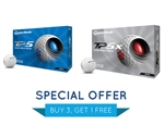 TaylorMade TP5 or TP5x Personalization Offer - BUY 3 GET 1 FREE