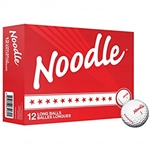 TaylorMade Noodle Long White Golf Balls 12pk (NEW)