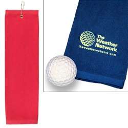 Tournament Golf Towel - Includes Your Logo!