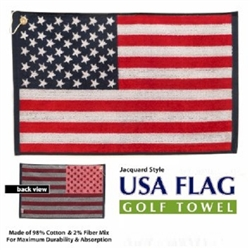USA American Flag Golf Towel