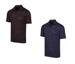 Greg Norman ML75 Shark Textured Polo