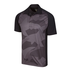 Greg Norman ML75 Shark Print Polo