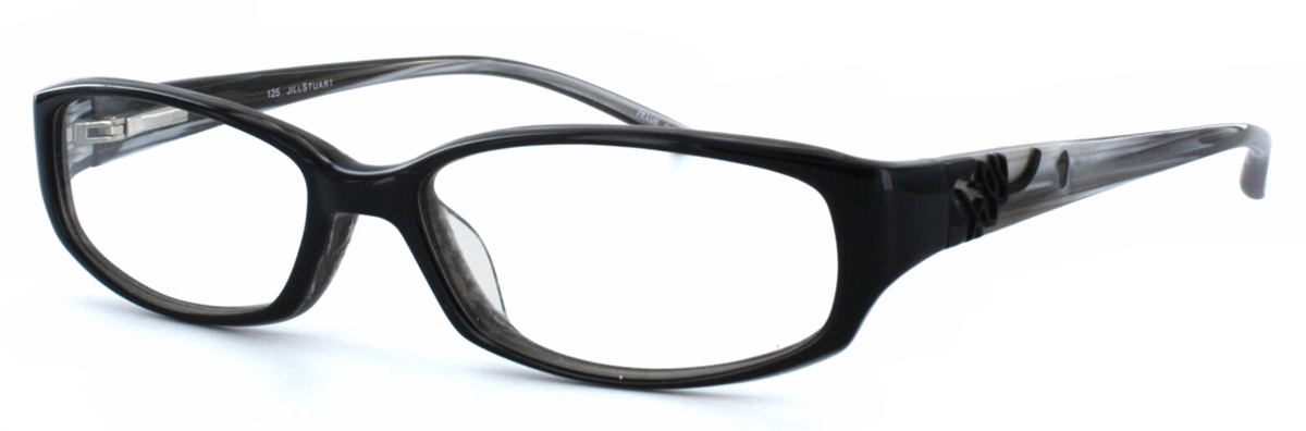Jill Stuart 161 Black Eyeglass Frame