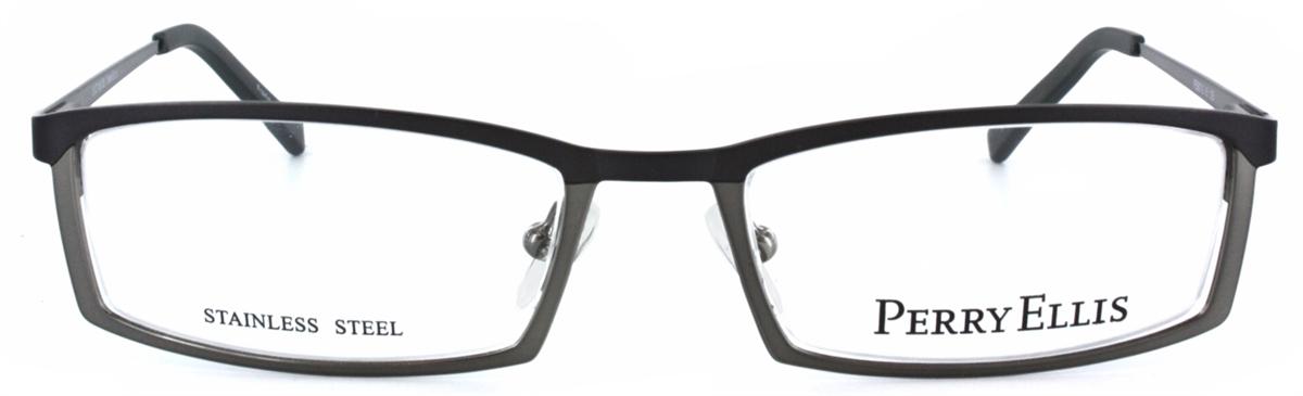 Perry Ellis 907 Eyeglass Frame in Gunmetal