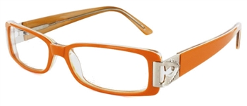 Cubra Libre 4 - Orange Eyeglass Frame