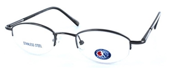 Pop Up Little League - Eyeglass Frame in Gunmetal