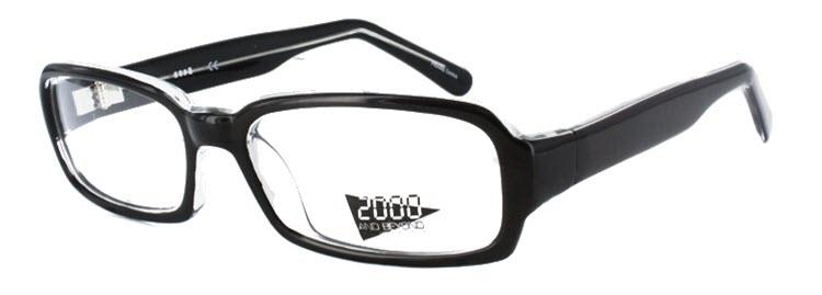 2095 Eyeglass Frame in Black