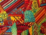 NEW!  AFRICAN PATCHWORK