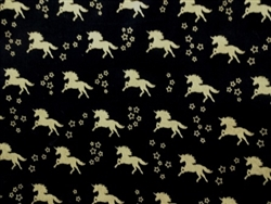 BLACK & GOLD UNICORNS