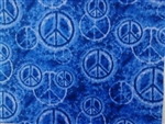DENIM PEACE SIGNS