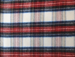 IVORY PLAID FLANNEL