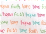 FAITH-HOPE-LOVE SUNBURST