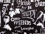 FRIENDS-EAT-DRINK-BE HAPPY