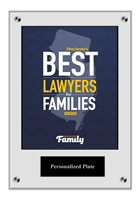 Deluxe New Jersey Family Lawyers Acrylic