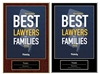 2020 Deluxe NJ's Best Lawyers for Families Plaque