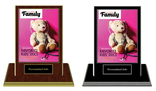 2019 Deluxe New Jersey Favorite Kid's Docs Base Plaques