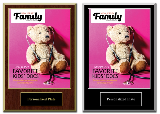 2019 Deluxe New Jersey Favorite Kid's Docs Plaques