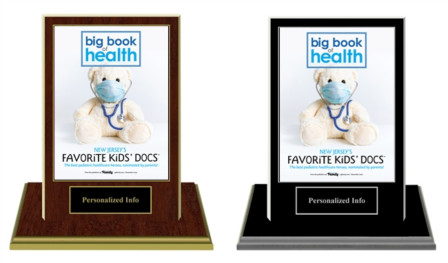 2020 Deluxe New Jersey Favorite Kid's Docs Base Plaques