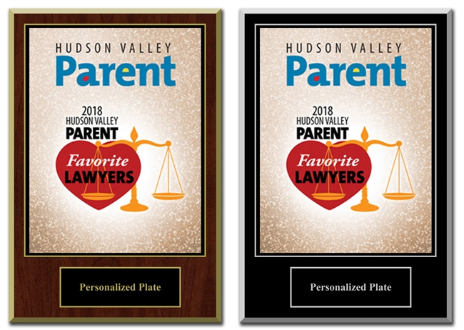 2018 Deluxe HV Parent Favorite Lawyers Plaque